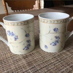 Heritage Mint Coffee Mug Set Enchanted Garden
